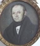 Portrét muže - miniatura