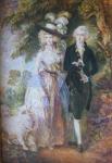 Thomas Gainsborough - Ranní procházka , kopie