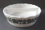 Swap bowl with vine leaves - Meissen