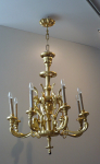 Wooden chandeliers late Biedermeier