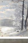 Ferdinand Engelmüller - Winter Landscape