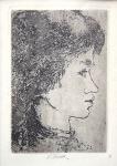 Ludmila Jiřincová - Portrét dívky