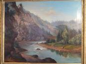 Vilém Ströminger - Romantická krajina