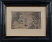 Vlach - Otec se synem u stolu