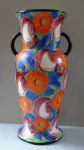 Vase with colored flowers - Klenci ?
