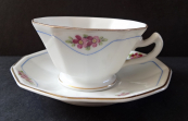 Cup and saucer, coffee - Schlaggenwald