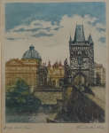 Emil Wänke - Staroměstská mostecká věž