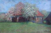 Ida Münzberg - Cottage in the spring