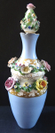 Vase with flowers and stopper - Vienna, 1844