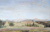 Hugo Carlberg, atributed - View to the hilly lands