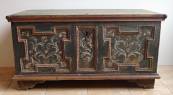 Painted chest with acanthus - Northern Sudetenland