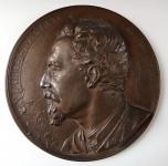 Bronzová plaketa - Miroslav Tyrš