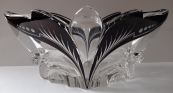 Art deco bowl with black staining