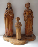 Holy Family - Woodcarving without polychrome