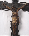 Home hanging crucifix - Carved cross