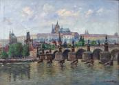Josef Homolka - Charles Bridge and Prague Castle