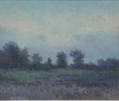 Matěj František Skula - Louka se stromy