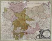 Johann Baptista Homann - Mapa Sasko
