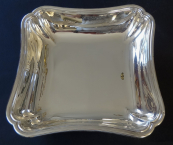Square silver bowl -  Auguste Leroy, Paris