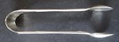 Stříbrné kleštičky na cukr - secesní ornament