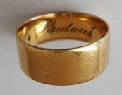 Zlatý prsten - kroužek