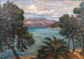 Lilli Gödl Brandhuber - Pobřeží v zálivu