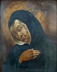 Panna Marie Bolestná - zlatý rám