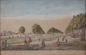 Pohled na St. James park v Londýně