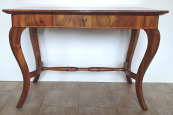 Biedermeier table with drawer