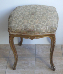 Gilded carved stool - Louis XVI.