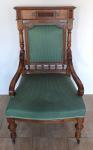 Armchair with smaller armrests - Gründerzeit