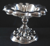 Silver small bowl on a stem - Prague 1810 - 1830