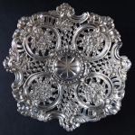 Silver bowl in the style of the second Rococo