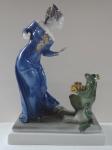 Dívka se žabákem - Liebermann, Rosenthal