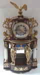 Sloupkové a figurální portálové hodiny - Josef Scherzinger, Budějovice