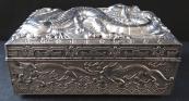 Tin Box with Chinese Dragon