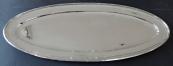 Large oval silver tray - Vienna, Alexander Sturm