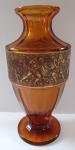 Váza s bojujícími Amazonkami - Moser