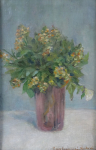 Berta Liebscherova, Havlickova - Flowers in vase
