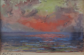 Emanuel Hosperger - Sunset over the sea