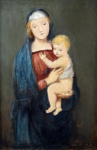 Monogram A. R. 1896 - Madona s dítětem