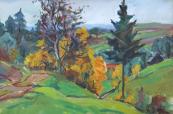 Zbynek Stolovsky - Autumn landscape