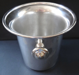 Silver plated, cooling ice bucket - August Wellner