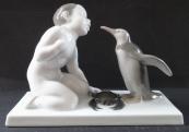 Chlapec s tučňákem a krabem - Rosenthal, Liebermann