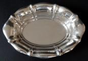 Oválná stříbrná miska - Sandrik