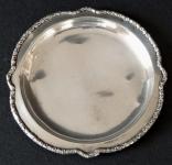 Malý stříbrný tácek - stříbrník F. N.