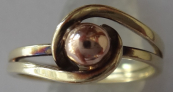 Golden ring, with ball