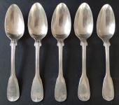 Pět stříbrných lžic - 12 Löth