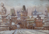 Emanuel Bakla - Winter Prague