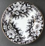 Malý mělký talíř s hnědým ornamentem - Stará Role